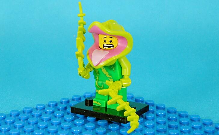 レゴ 植物モンスターのミニフィグ