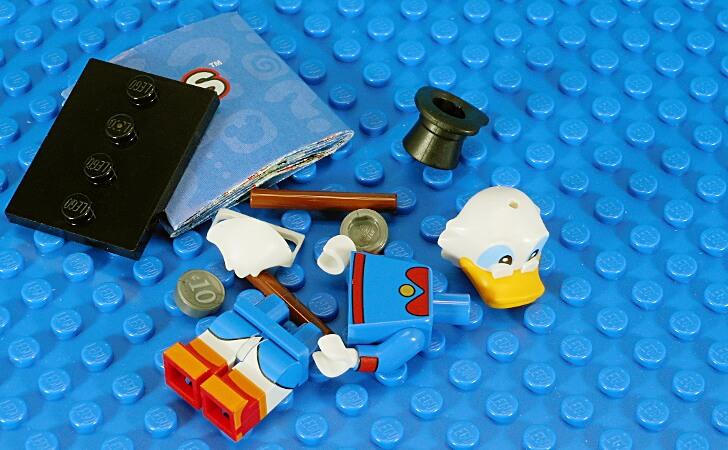 レゴ スクルージ・マクダックのミニフィグ