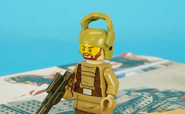 ジスタンストルーパーのヘルメット