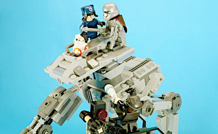 LEGO Star Wars First Order AT-ST 75201の総評