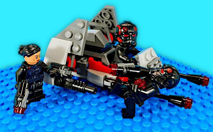 スタッドシューターと機関銃