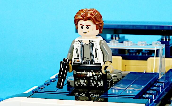 レゴ ハン・ソロのミニフィグ