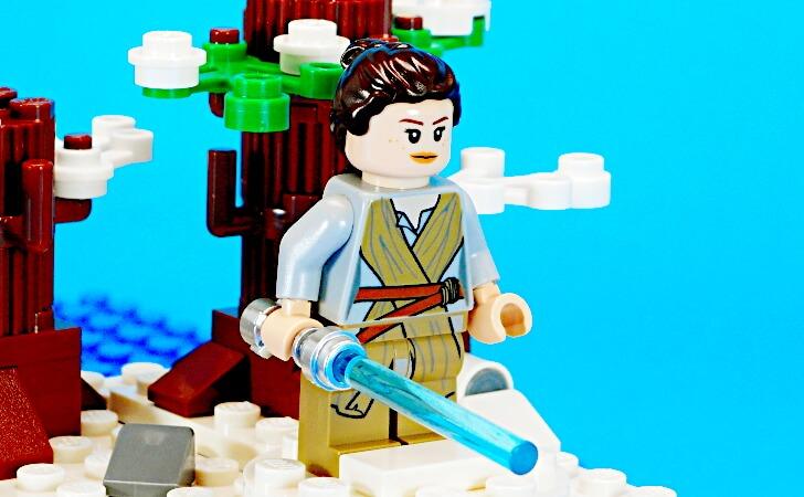 レゴ レイのミニフィグ