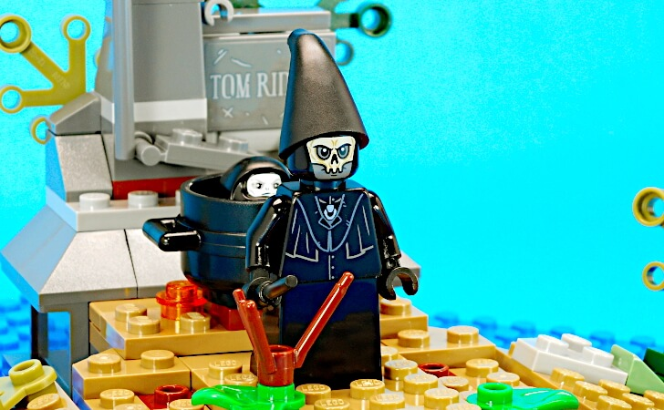 レゴ デスイーターのミニフィグ