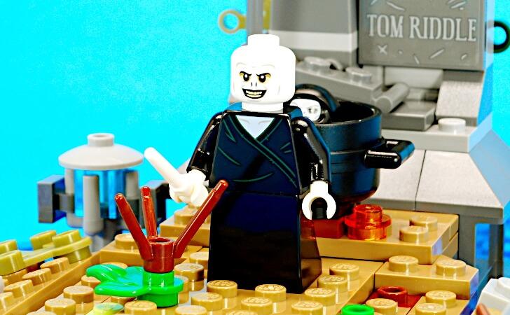 レゴ ヴォルデモートのミニフィグ