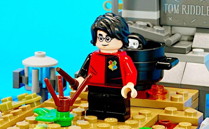 レゴ ハリー・ポッターのミニフィグ