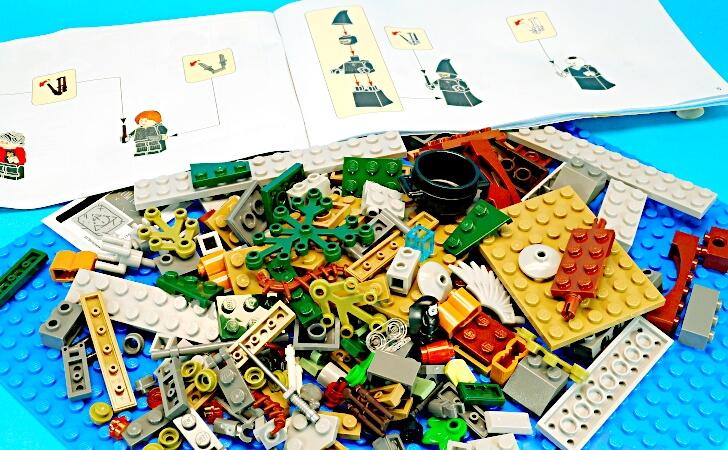 レゴ ハリーポッター ヴォルデモートの復活 75965のピース数