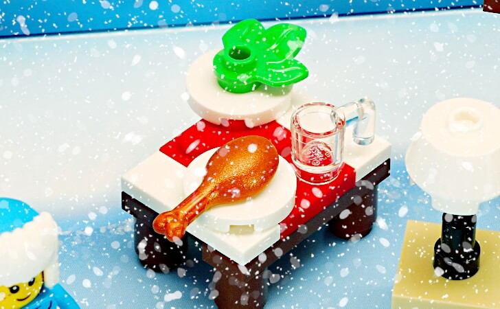 クリスマスのテーブル