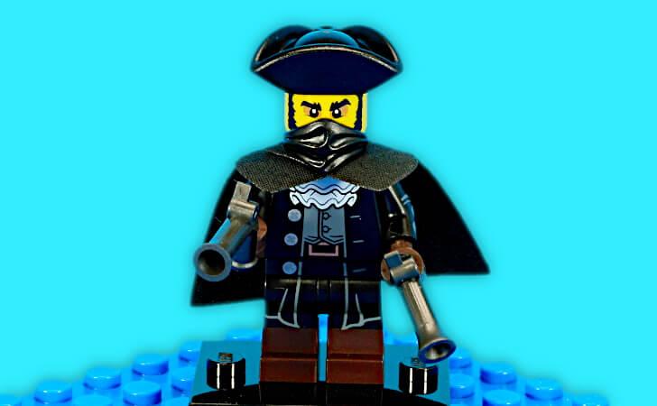 レゴ ハイウェイマンのミニフィギュア