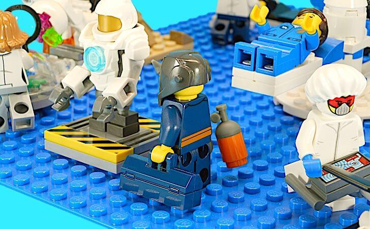 ロボットの整備