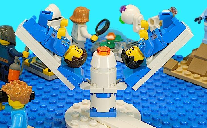 火星探査隊のメンバー