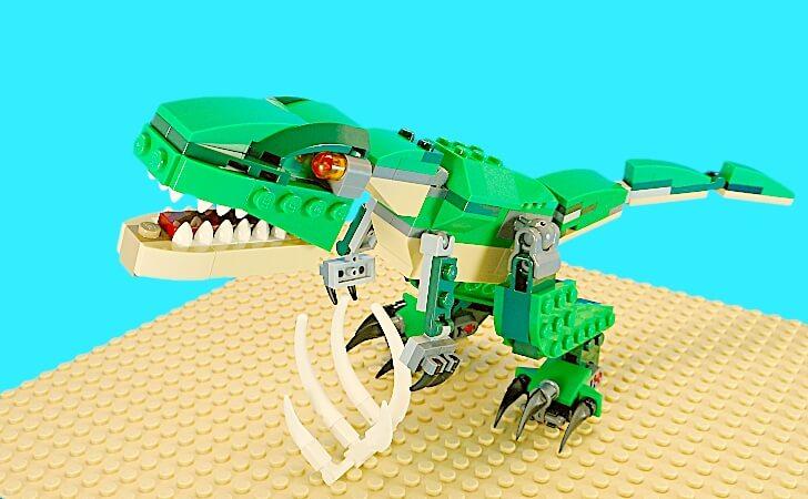ティラノサウルスのサイズ