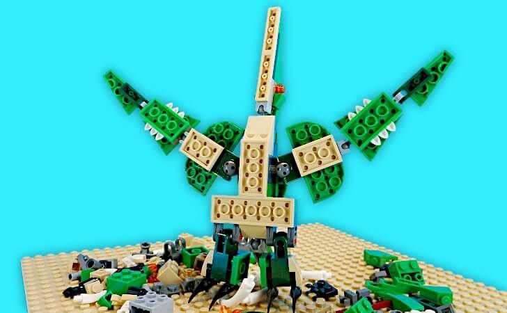 レゴ プテラノドンのヒトデ形態