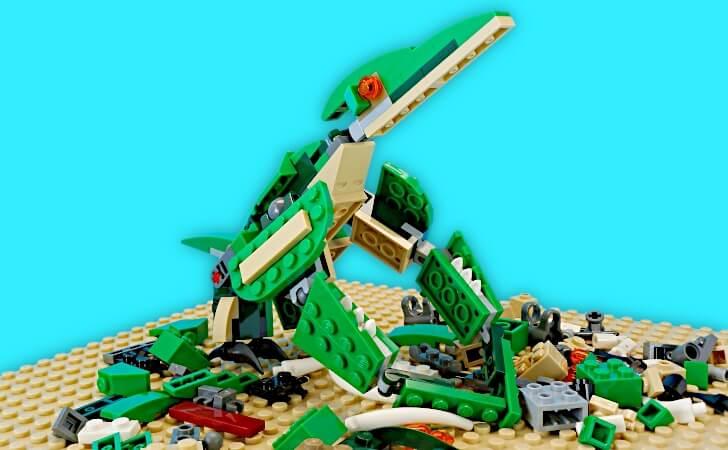レゴ クリエイター 恐竜プテラノドンの総評