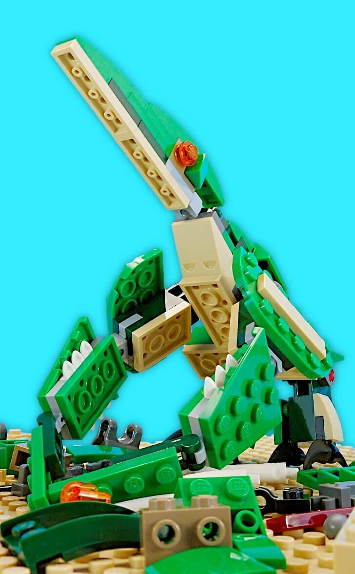 レゴ 翼竜のプテラノドンを組み立て