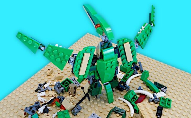 レゴ プテラノドンが翼を広げる