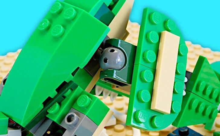 レゴ プテラノドンの足と爪