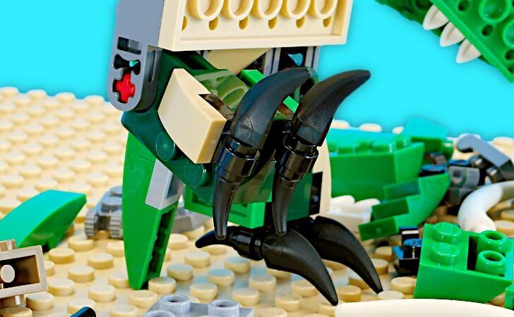 レゴ プテラノドンの股関節