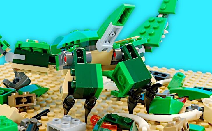 レゴ プテラノドンの尻尾