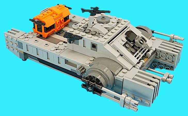 帝国のアサルトホバータンクの外観