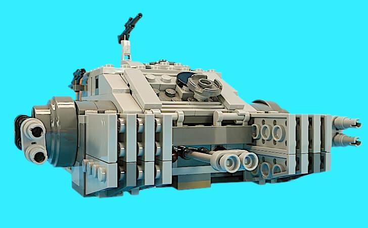 帝国のアサルトホバータンクの全幅