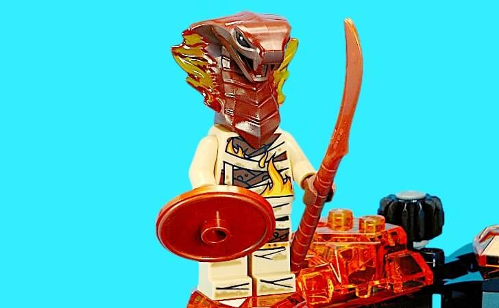 レゴ パイロ・スレイヤーのミニフィグ
