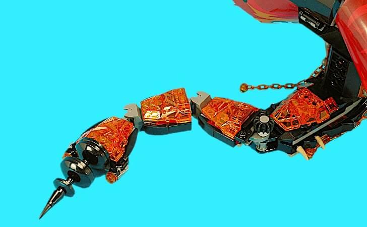 レゴ マグマノオロチの尻尾