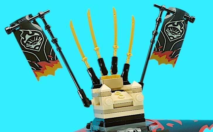 レゴ マグマノオロチの玉座