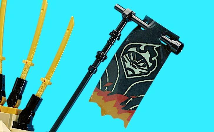 レゴ マグマノオロチの旗