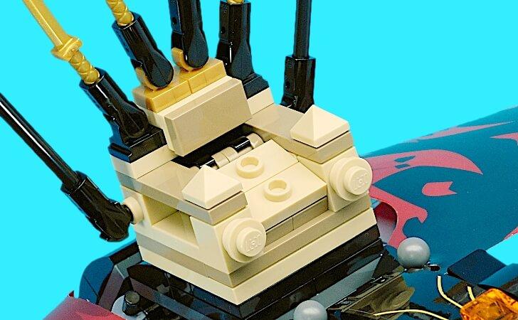 レゴ アスフィーラの玉座
