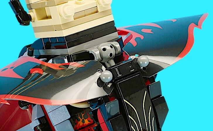 レゴ マグマノオロチの首