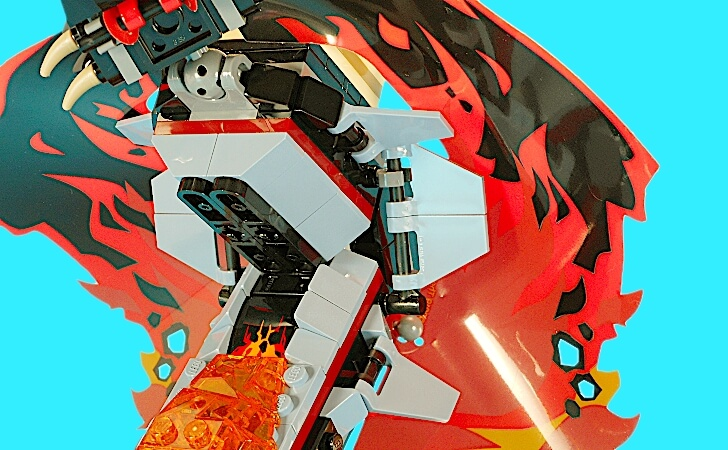 レゴ マグマノオロチの胴体