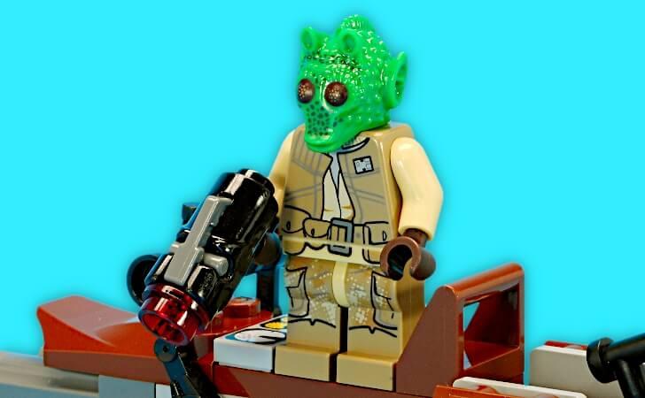 レゴ ローディアンのミニフィグ
