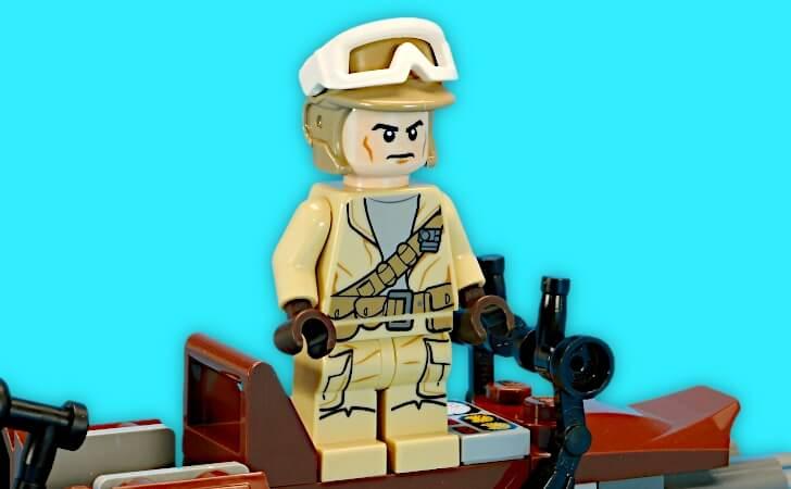 レゴ 反乱軍兵士のミニフィグ