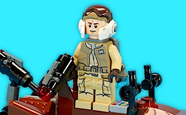 レゴ レベルトルーパーのミニフィグ