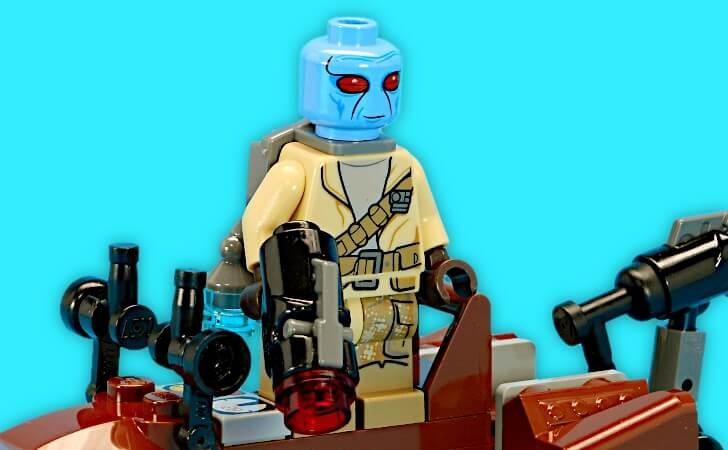 レゴ デュロスのミニフィグ