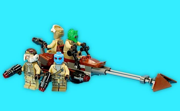 レゴ スター・ウォーズ バトルパック 反乱者たち 75133のスピーダー