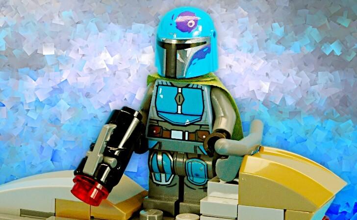 レゴ マンダロリアン・ブルーのミニフィグ
