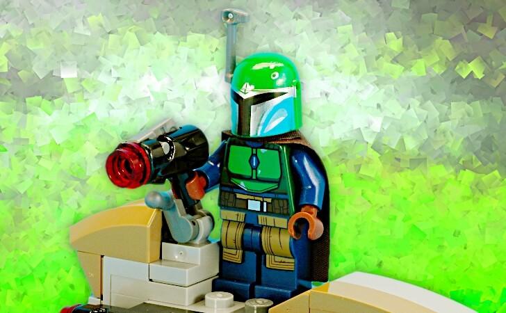 レゴ マンダロリアン・グリーンのミニフィグ