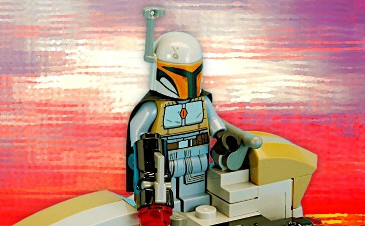 レゴ マンダロリアン・ホワイトのミニフィグ