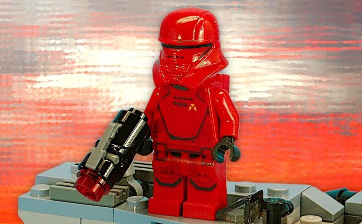 レゴ シス・ジェット・トルーパーのミニフィグ