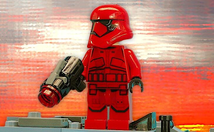 レゴ シス・トルーパーのミニフィグ
