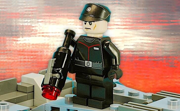 ファースト・オーダー将校のミニフィグ