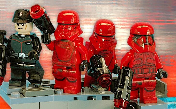 レゴ スター・ウォーズ シス・トルーパー バトルパック 75266のミニフィグ