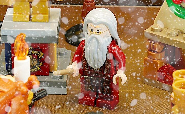 レゴ ダンブルドアのミニフィグ