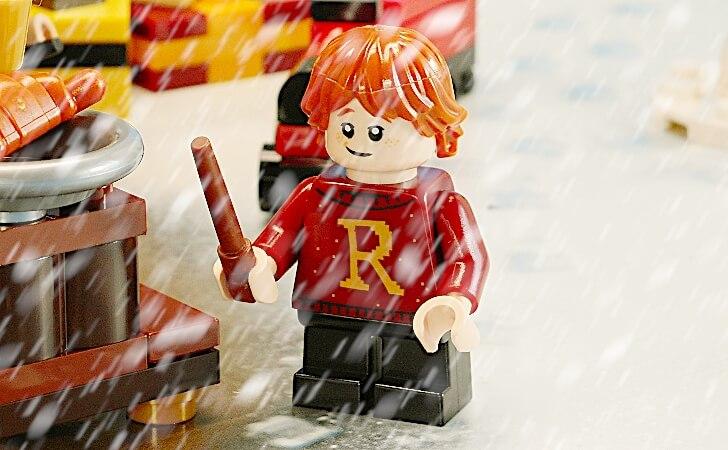 レゴ ロン・ウィーズリーのミニフィグ