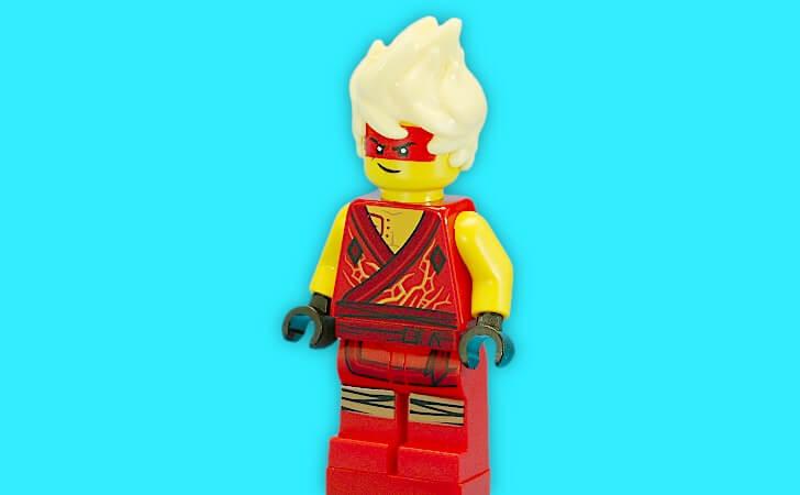 レゴ アバター・カイのミニフィグ