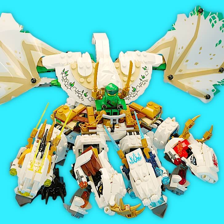 レゴ 究極のウルトラ・ドラゴン:アルティメルスをレビュー