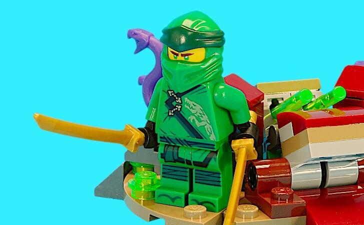 レゴ ロイドのミニフィグ
