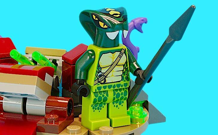 レゴ スピッタのミニフィグ